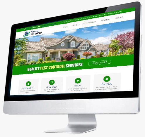 Pest Control Website Design - Website 4