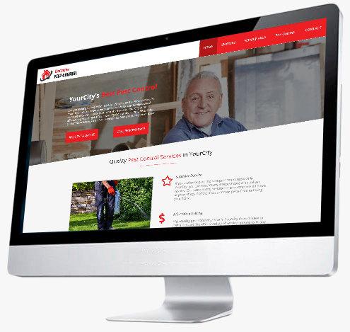 Pest Control Website Design - Website 5